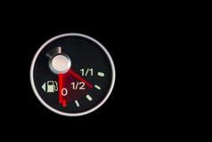 Ρίψη των καυσίμων gauge2 Στοκ εικόνα με δικαίωμα ελεύθερης χρήσης