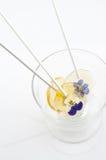 Ραβδί ζάχαρης λουλουδιών Στοκ Εικόνα