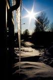 ραβδί πάγου Στοκ Εικόνες