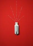 Ραβδί USB Στοκ φωτογραφίες με δικαίωμα ελεύθερης χρήσης