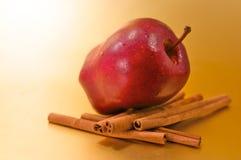 ραβδιά κανέλας μήλων Στοκ φωτογραφίες με δικαίωμα ελεύθερης χρήσης