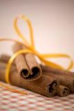 ραβδιά κανέλας Στοκ εικόνα με δικαίωμα ελεύθερης χρήσης