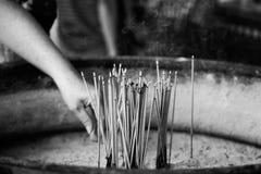 ραβδιά προσευχής Στοκ Εικόνα