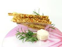 Ραβδιά τυριών με το rosmarin Στοκ φωτογραφίες με δικαίωμα ελεύθερης χρήσης