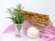 Ραβδιά τυριών με το rosmarin Στοκ Εικόνα