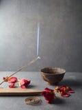 ραβδί θυμιάματος Aromatherapy Στοκ φωτογραφίες με δικαίωμα ελεύθερης χρήσης