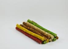 Ραβδί πρόχειρων φαγητών σκυλιών munch στοκ φωτογραφία με δικαίωμα ελεύθερης χρήσης