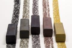 Ραβδί σχεδίων ξυλάνθρακα Στοκ Φωτογραφίες
