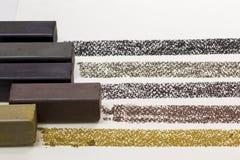 Ραβδί σχεδίων ξυλάνθρακα Στοκ Εικόνες