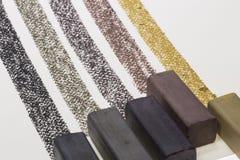 Ραβδί σχεδίων ξυλάνθρακα Στοκ εικόνες με δικαίωμα ελεύθερης χρήσης