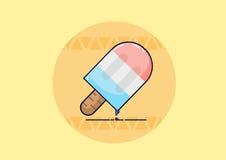 Ραβδί Popsicle Στοκ φωτογραφία με δικαίωμα ελεύθερης χρήσης