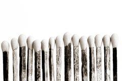 Ραβδιά αντιστοιχιών Στοκ Φωτογραφία