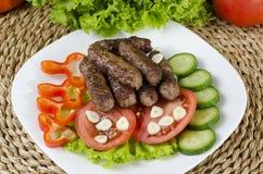 Ραβδιά επίγειου χοιρινού κρέατος Στοκ εικόνες με δικαίωμα ελεύθερης χρήσης