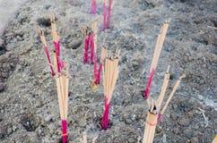 Ραβδιά κινέζικων ειδώλων τέφρες Στοκ Φωτογραφίες