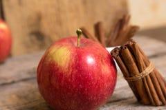 Ραβδιά μήλων και κανέλας Στοκ φωτογραφία με δικαίωμα ελεύθερης χρήσης
