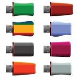 Ραβδιά μνήμης USB Στοκ εικόνες με δικαίωμα ελεύθερης χρήσης