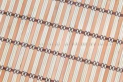 Ραβδιά μπαμπού υποβάθρου με την ένωση νημάτων Στοκ εικόνα με δικαίωμα ελεύθερης χρήσης