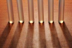 Ραβδιά πυροβόλων όπλων κόλλας για την τέχνη και τις ράβδους Στοκ φωτογραφίες με δικαίωμα ελεύθερης χρήσης