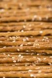 Ραβδιά σουσαμιού (μακρο πυροβολισμός) Στοκ φωτογραφία με δικαίωμα ελεύθερης χρήσης