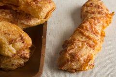 Ραβδιά τυριών τυριού Cheddar Στοκ Εικόνα