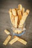 Ραβδιά τυριών Στοκ Εικόνα