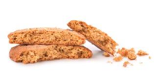 Ραγισμένα μπισκότα Στοκ φωτογραφία με δικαίωμα ελεύθερης χρήσης