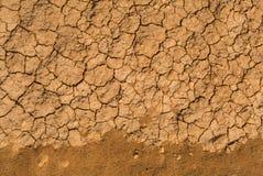 ραγισμένη λάσπη Στοκ Φωτογραφίες