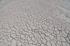 Ραγισμένη γη από την ξηρασία Στοκ φωτογραφία με δικαίωμα ελεύθερης χρήσης