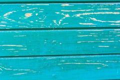 Ραγισμένη ζωγραφική στην ξύλινη επιφάνεια Στοκ Φωτογραφία