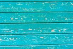 Ραγισμένη ζωγραφική στην ξύλινη επιφάνεια Στοκ εικόνα με δικαίωμα ελεύθερης χρήσης