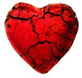 ραγισμένη καρδιά Στοκ φωτογραφίες με δικαίωμα ελεύθερης χρήσης