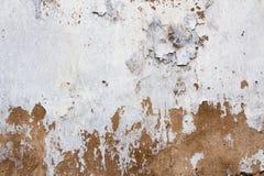 Ραγισμένη κόκκινη και άσπρη σύσταση υποβάθρου τοίχων στοκ φωτογραφίες με δικαίωμα ελεύθερης χρήσης