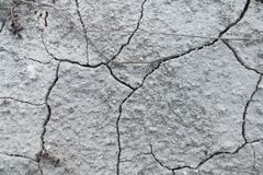 ραγισμένη ξηρά γη Στοκ Φωτογραφία