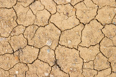 ραγισμένη ξηρά γη Στοκ εικόνα με δικαίωμα ελεύθερης χρήσης