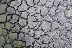 ραγισμένη σύσταση λάσπης στοκ φωτογραφία