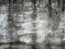 Ραγισμένος άσπρος χρωματισμένος τοίχος που εκτίθεται στην υπαίθρια σύσταση μορφών Στοκ φωτογραφία με δικαίωμα ελεύθερης χρήσης