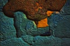 ραγισμένος βρώμικος παλ&alph Στοκ φωτογραφίες με δικαίωμα ελεύθερης χρήσης