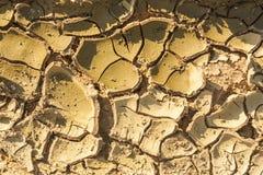 Ραγισμένος, ξηρασία στη γεωργία στοκ φωτογραφίες με δικαίωμα ελεύθερης χρήσης