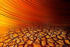 ραγισμένος ξηρός γήινος ο&r Στοκ φωτογραφία με δικαίωμα ελεύθερης χρήσης