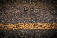 ραγισμένος δρόμος στοκ φωτογραφίες με δικαίωμα ελεύθερης χρήσης