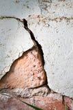 ραγισμένος τοίχος σύστα&sigma Στοκ Εικόνα