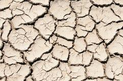ραγισμένο άργιλος χώμα ει& Στοκ Φωτογραφίες