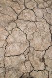 ραγισμένο άργιλος έδαφο&sigm στοκ φωτογραφία με δικαίωμα ελεύθερης χρήσης