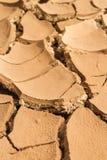 ραγισμένο ανασκόπηση χώμα Στοκ εικόνες με δικαίωμα ελεύθερης χρήσης