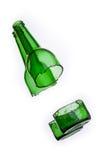 Ραγισμένο μπουκάλι Στοκ φωτογραφία με δικαίωμα ελεύθερης χρήσης