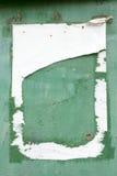 Ραγισμένο ξεφλουδίζοντας χρώμα στον τοίχο, σύσταση υποβάθρου Στοκ εικόνα με δικαίωμα ελεύθερης χρήσης