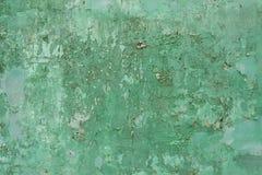Ραγισμένο ξεφλουδίζοντας χρώμα στον τοίχο, σύσταση υποβάθρου Στοκ Εικόνες