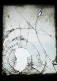 ραγισμένο παλαιό παράθυρ&omicro Στοκ φωτογραφία με δικαίωμα ελεύθερης χρήσης