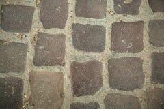 Ραγισμένο παλαιό υπόβαθρο τοίχων πετρών, σύσταση πετρών grunge κοντά επάνω Στοκ Εικόνα