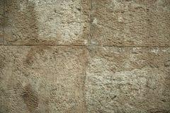 Ραγισμένο παλαιό υπόβαθρο τοίχων πετρών, σύσταση πετρών grunge κοντά επάνω Στοκ φωτογραφίες με δικαίωμα ελεύθερης χρήσης